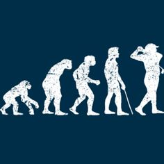 The evolution of a golfer! Brought to you by ShopletPromos.com - promotional products for your business.