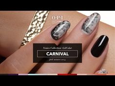 OPI GelColor Tutorial | Venice Collection | Carnival - YouTube