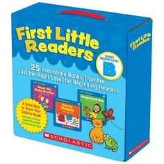 FREE 2 DAY SHIPPING: First Little Readers Parent Pack: Guided Reading Level B: