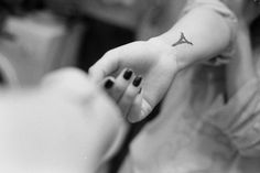 Eiffel Tower tattoo. Yes please.