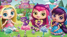 Little Charmers Sparkle Up ios/android gameplay - video for kids