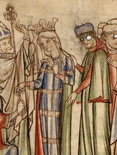 Edith of Wessex (c. 1025 – 18 December 1075) was the daughter of Godwin of Wessex, a great cause of trouble for her husband, King Edward (later known as Edward the Confessor). In 1051 Godwin was exiled and Edith sent to a nunnery, but they were all reinstated in 1052 and she became a trusted advisor. Her piety is emphasised in the Vita Edwardi.  She had no children and her brother, Harold, took the throne on Edward's death.  She was treated with honour by William I after his conquest of…