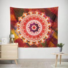 Mandala Tapestry Bohemian Tapestry Indie Vintage Mandala