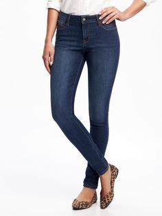 Old Navy Mid-Rise Rockstar Skinny Jeans for Women