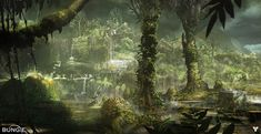 The Beautiful Concept Art of Bungie's Destiny [Updated]