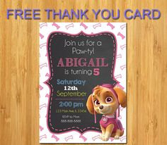 20 X Scooby Doo Kids Birthday Party Invitations Invites Cards