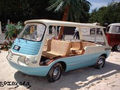 Fiat 850 Multipla beach version