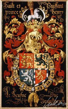 Armorial plates from the Order of the Golden Fleece | Henry II, Duke of Brunswick-Wolfenbüttel