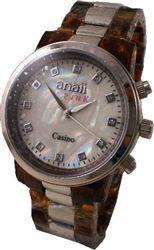 Tortoise Casino Unisex Watch