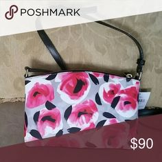 Kate Spade Crossbody Bag Get reaxy for spring/summer with this printed rose bed design crossbody. kate spade Bags Crossbody Bags