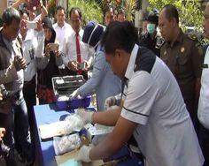 BNNP Jatim Musnahkan BB Sabu 1,9 Kg Jaringan Sinyo