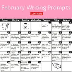 February 2019 Calendar Letter Writing Prompts 60 Best Writing Prompts images in 2019 | Handwriting ideas