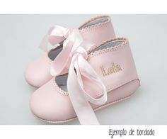 Baby shoes personalized with name in Tutete.com