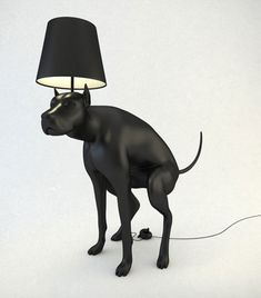 This lamp takes art to another level. With a flick of a poop you can turn your lamp on and off and also scare other dogs who enter your home. Makes a great gift for mom.