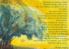 Sandra Lage: Poema de Natal (Antroposofia)