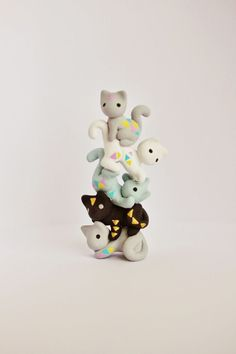 Mijbil Creatures: A cat tower!: