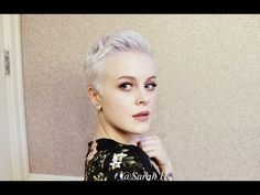 Tousled & Textured Pixie Cut Styling Tutorial / Holiday, Special Occasion, Wedding - YouTube