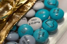 Wedding give away  Some M&M's