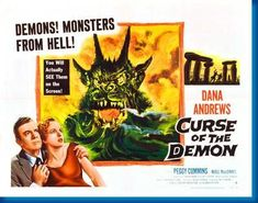 Curse Of The Demon Movie Poster 24inx36in