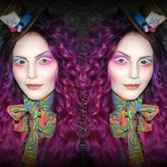 Mrs.Hatter Makeup With Video Tutorial