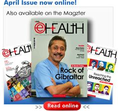 """""""Rock of Gibraltar""""-Dr. Trehan features on the cover page of #eHEALTH Magazine. Read the cover story!"""