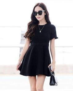 "13.5 k mentions J'aime, 73 commentaires - BLANC & ECLARE (@official_blancgroup) sur Instagram : ""Style dispatch from our Creative Director – a flirty black dress with matching shades channel…"""