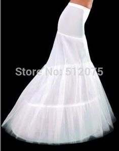d9f17824bfa72 2016 New Hot Sale In Stock Petticoat 2 Hoops White Mermaid Wedding Dress  Crinoline Slip Cheap and Good Quality Accessories-in Petticoats from  Weddings ...