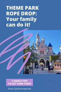 Beat the crowds at Disney and Universal with these simple tips to get your family into the park before everyone else. Yes, you can get your family up early and moving with this step-by-step theme park morning advice from GoInformed.net. Universal Studios Florida, Universal Orlando, Disney World Parks, Disney World Vacation, Orlando Theme Parks, Orlando Vacation, Getting Up Early, World Traveler, Plan Your Trip