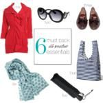 6 MUST PACK All Weather Essentials