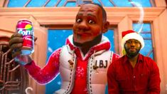 LeBron James' Sprite Christmas Commercial, Cranberry Animated -  NBA REA...