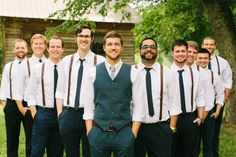 simple groomsman look | Rachel Moore #wedding