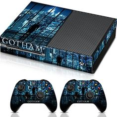 Controller Gear Gotham City Skyline  Xbox One Combo Skin Set for Console and Controller >>> Learn more by visiting the image link.Note:It is affiliate link to Amazon.