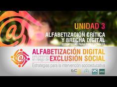 ▶ Unidad 3: Alfabetización Crítica y Brecha Digital, Estrategias para Profesionales - YouTube