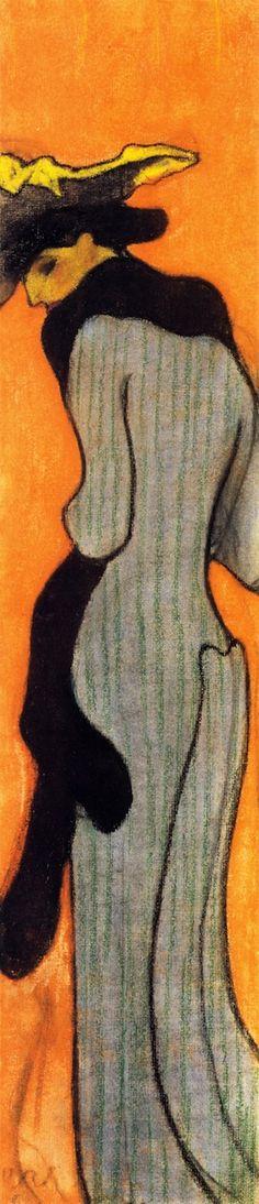 The Boa, 1892 / Edouard Vuillard