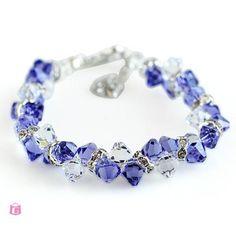 Swarovski Crystal Lavender Fashion Bracelet