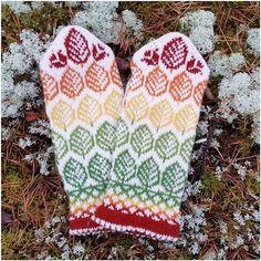 Ravelry: Vanten Höst (Autumn mittens) pattern by JennyPenny