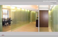 Lewandowska Architect, PLLC. New York, NY.   DCD Capital Headquarters, New York, NY.