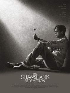 """The Shawshank Redemption"" by Tom Miatke $35.00"