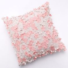 LC Lauren Conrad Tea Party Laser-Cut Decorative Pillow-  This is adorable!  I love her bedding collection as a whole from what i've seen online so far