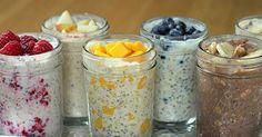Skvělá zdravá snídaně, či svačina do práce. Tyto ovesné kaše se nemusí vařit. Pouze nasypete ingredience do sklenice, protřepete a máte uvařeno Kaše mají vysoký obsah proteinů a kvalitních sacharidů. Další rozměr zdraví tomuto receptu dodávají Chia semínka o jejichž účincích si můžete přečíst v tomto receptu. Tip: Pokud použijete drcené ovesné vločky, tak se ...