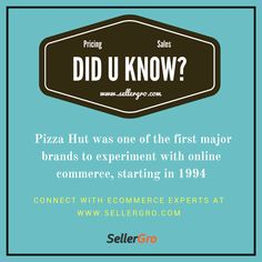 Did you Know about this yet? .....register at www.sellergro.com/register to know more such interesting facts about ecommerce