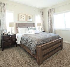#masterbedroom #naturallight #windows #bed #decor