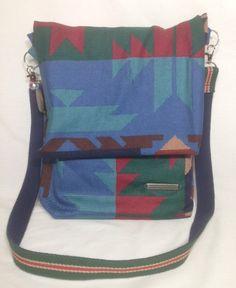 Messenger Bag Shoulder bag Cross body bag Fabric Purse Gift for her Handbag…