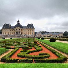 Chateau de Vaux le Vicomte - France.