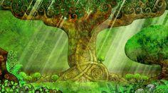Secret of Kells - forest scene