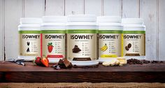 IsoWhey on Packaging of the World - Creative Package Design Gallery