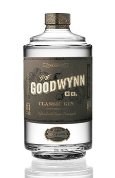 Goodwynn Gin on Packaging of the World - Creative Package Design Gallery