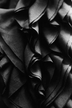 #black #ruffles