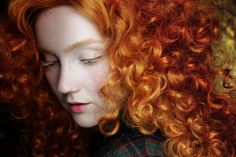 » Real Life Disney: Merida KlairedeLys #beauty #composition