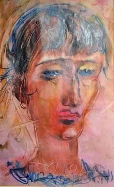 Поиск в GoogleИз собрания музея Анны Ахматовой: А.Т.Зверев. Портрет Анны Ахматовой.